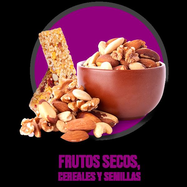Frutos secos, Cereales y Semillas